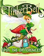Tinkerbell Spot The Difference: Exclusive Find The Difference Activity Books For Adults And Kids - Awesome Collections