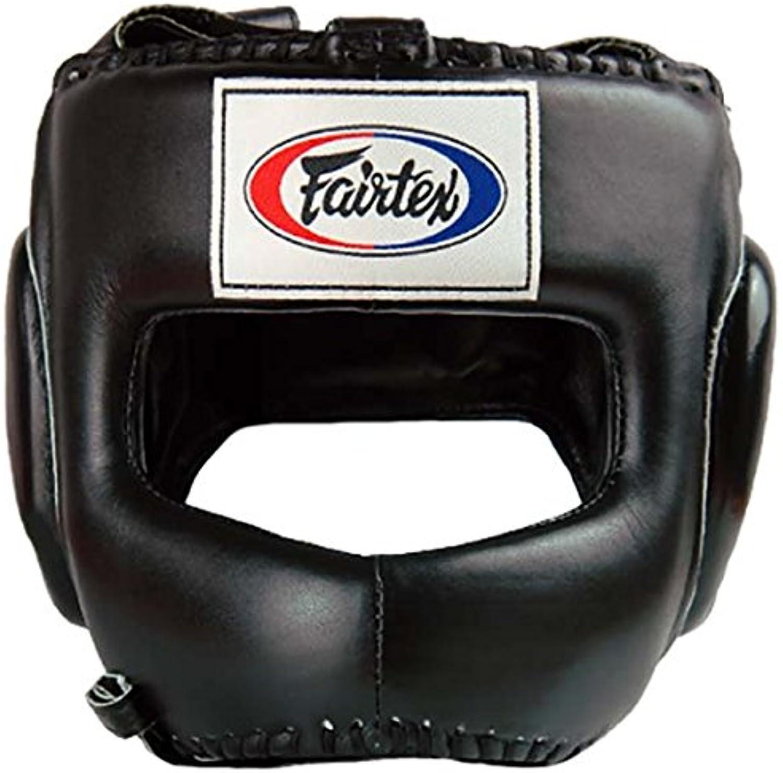 Fairtex Fairtex Fairtex Kopfschutz, HG4, schwarz, Head Guard, Protector Muay Thai MMA Thaiboxen B01MG03T8B  Authentische Garantie 503c15