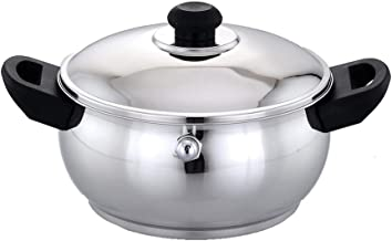 Pigeon Belly Stainless Steel Milk Boiler, 1 Litre, Silver