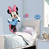 Roommates Mickey and Friends Minnie Mouse Peel and Stick Giant Wall Decal (Multicolor) foot peel Apr, 2021