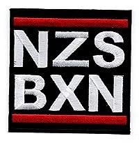 Aufnäher Motiv NZS BXN Nazis Boxen 7,5 x 7,5 cm von Bienpatch