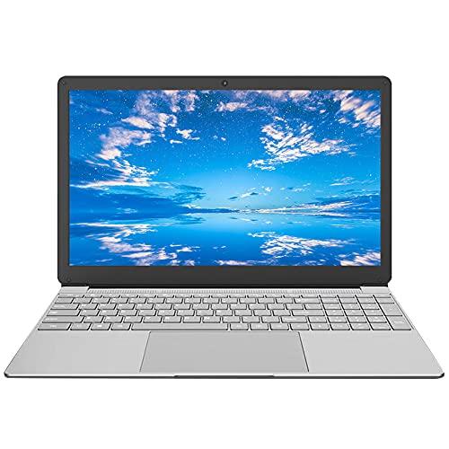 15,6 Zoll Laptop, Notebook, Computer PC, J4115/J4125 Quad Core CPU, Windows 10 Pro Betriebssystem, 1920X1080 Mattdisplays, 8GB RAM, 128GB ROM (Erweiterbarer Speicher 1TB SSD), Mikrofon, Webcam