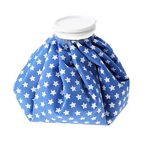 Bolsa de hielo, fácil de operar, resistente a largo plazo, material de poliéster, bolsa de hielo fría, para oficina en casa(Blue star)