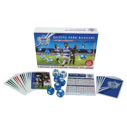 STARPLAYER QPR Football Dice Game