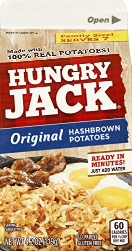 Hungry Jack Premium Hashbrown Kartoffeln, 120 ml