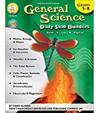 Mark Twain Media General Science Workbook―Grades 5-8 Earth, Space, Life, and Physical Science Activity Book, Weather, Energy, Electricity, The Solar ... of Elements (96 pgs) (Daily Skill Builders)
