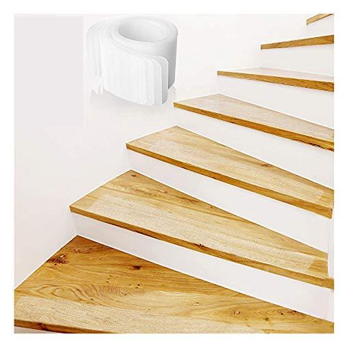 'N/A' Escalera Tira Antideslizante Transparente, Puerta, Baño, Protección del Piso De La Cocina, Niños, Ancianos Y Mascotas Antideslizante 15PCS(Size:10x60cm)