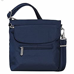 66af66b310 Travelon bags are much-loved for their anti-theft properties and their  affordable price. This is one of the more popular small travel bags  it  holds ...