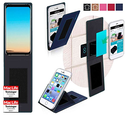 Hülle für Leagoo S8 Pro Tasche Cover Case Bumper | Blau | Testsieger