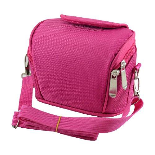 APS de color rosa para cámara para rueda de cámara de vídeo de funda con tapa bolsa para raquetas de tenis y pantalla a juego para CANON LEGRIA HF M41 M46 M406 M52 M56 M506.