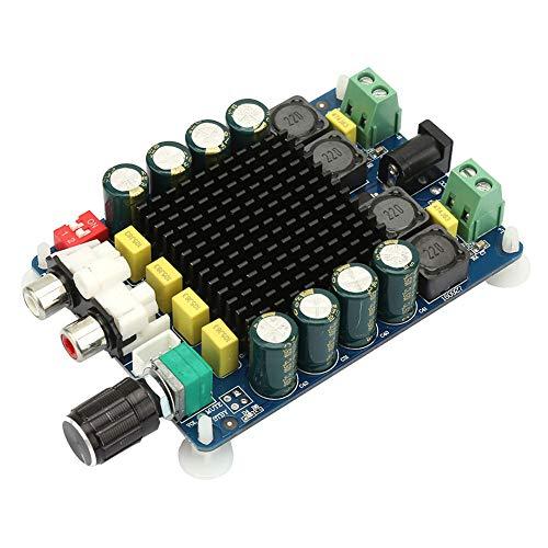 Changor Placa amplificadora de Potencia, impedancia de Altavoz Potencia de Salida Fuerte 4~10 ohmios Amplificador de Potencia Digital plástico