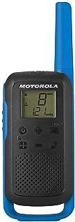 Motorola T62 PMR446 2-Way Walkie Talkie Radio Twin Pack - Blue