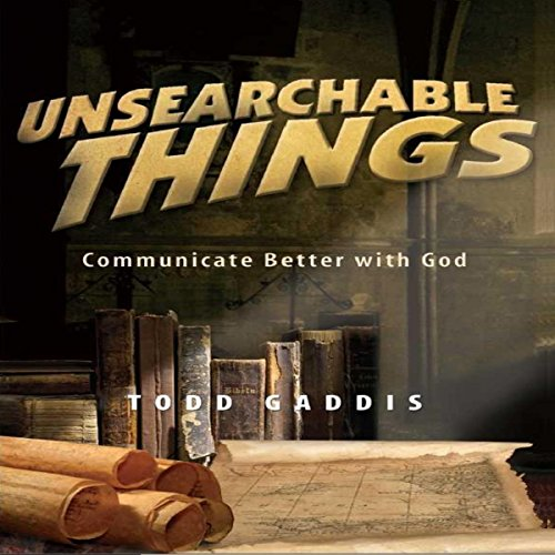 Unsearchable Things audiobook cover art