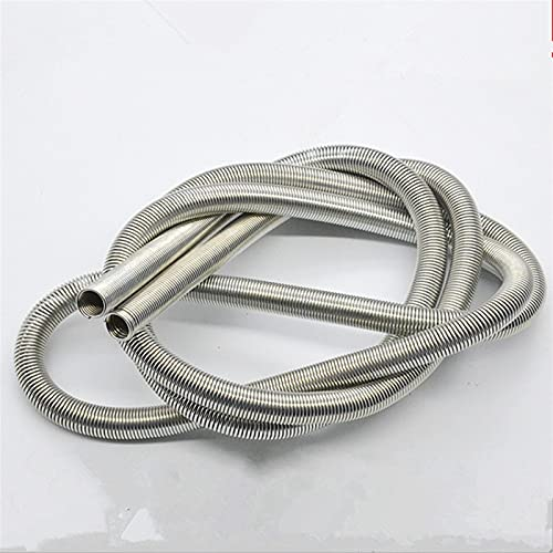 Myouzhen-Compressed Spring Small Stainless Steel Compression Extension Tension Spring, 0.6mm Wire Diameter3-10mm Out Diameter1000mm Length, Long Service Life (Length : 0.6x8x1000mm)