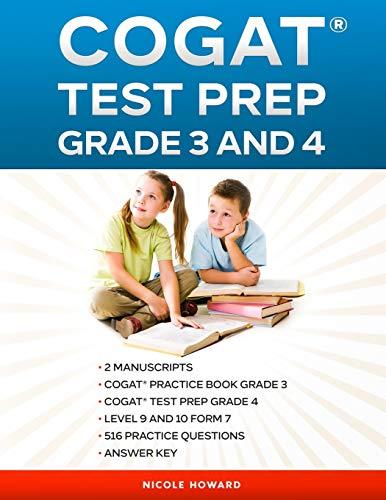 COGAT® TEST PREP GRADE 3 AND 4: 2 Manuscripts, CogAT®...