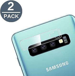 EasyULT [2 Pack Protector Lente cámara para Samsung Galaxy S10/S10 Plus Cristal Vidrio Templado Ultra Fino Cubierta de Lente de la cámara