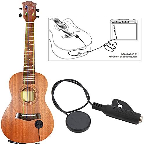 SHYEKYO Pastilla para violín, Ukelele, violín, fácil afinación, Tapones de 3,5 mm, plástico, Conveniente para Instrumentos Musicales(MP20)