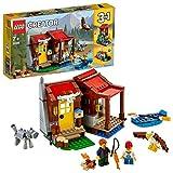 LEGO Creator - Cabaña, Juguete 3 en 1 Creativo de Construcción para Niños y...