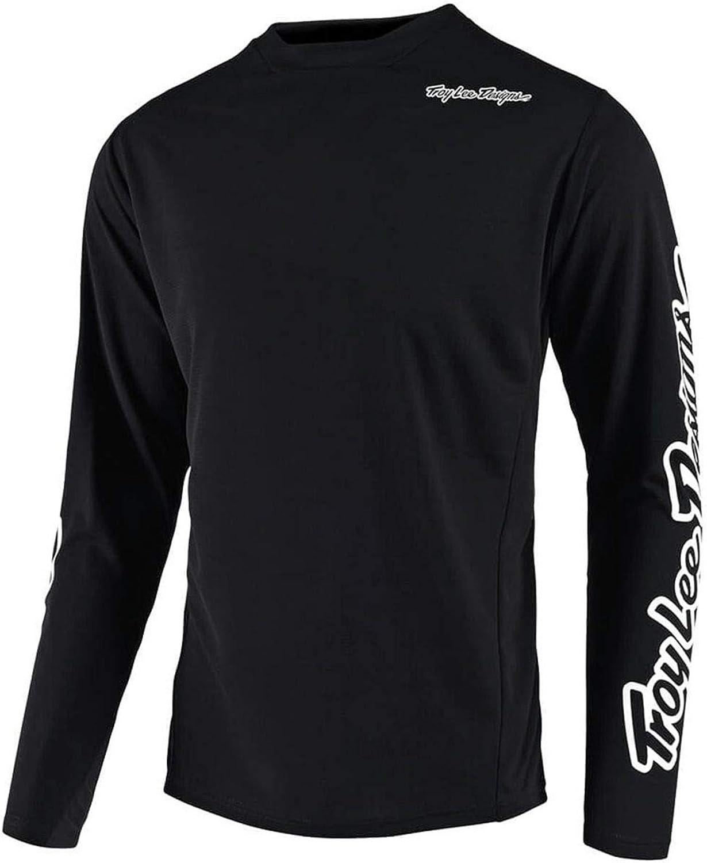 Troy Lee Designs Sprint Youth Bike Jersey Solid Black 2019