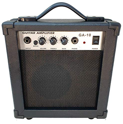Amplificador combo para guitarra electrica ROCKSTAR GA10 con 10W driver y ganancia de rockmusic