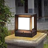 hines retro europeo e27 giardino in alluminio paesaggio prato inglese cinese lanterna di vetro esterno lampada da tavolo luce colonna ip55 impermeabile villa porta palo recinzione pilastro luce di via
