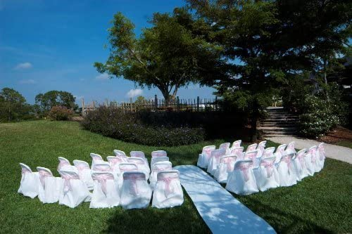 Cheap disposable chair covers for weddings _image0