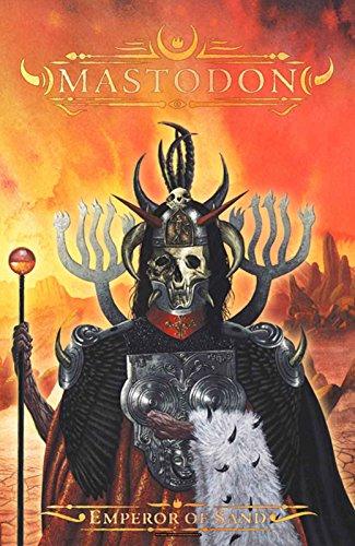 Mastodon Poster Emperor of Sand Band Logo offiziell Textile Flag 70cm x 106cm