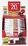 【まとめ買い】UHA味覚糖 SIXPACK プロテインバー チョコレート味 40g×10本