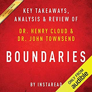 Boundaries: When to Say Yes; How to Say No to Take Control of Your Life, by Dr. Henry Cloud and Dr. John Townsend cover art