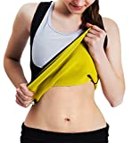 Best Belly Fat Burner Belts - Roseate Women's Body Shaper Hot Sweat Workout Tank Review
