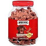Milk Bone Soft & Chewy Beef Snacks, 37 Oz