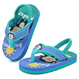 Toddler Flip Flops Boys Girls Thong Sandals with Back Strap Kids Water Shoes for Beach and PoolU421SBDRZT-Monkey-26