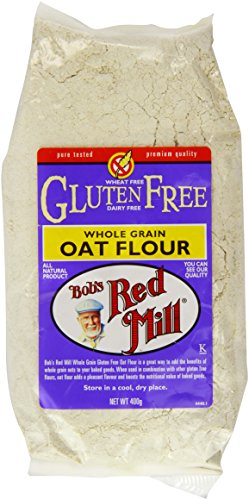 Bob'S Red Mill Gluten Free Whole Grain Oat Flour, 400g