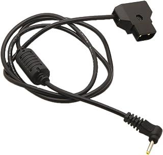 perfk Reemplazo De 3 Pies D-Tap Macho A Cable De Alimentación De CC para Blackmagic Pocket BMCC 4K Camera Monitor