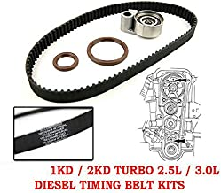 Timing Belt Kit OEM Fits For Toyota Hillux Prado Hiace Diesel Turbo 2.5L 2KD 3.0L 1KD