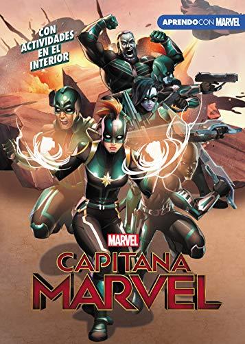 Capitana Marvel (Leo, juego y aprendo con Marvel)