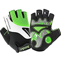 HASAGEI cycling gloves mountain bike gloves cycling gloves half finger for men women