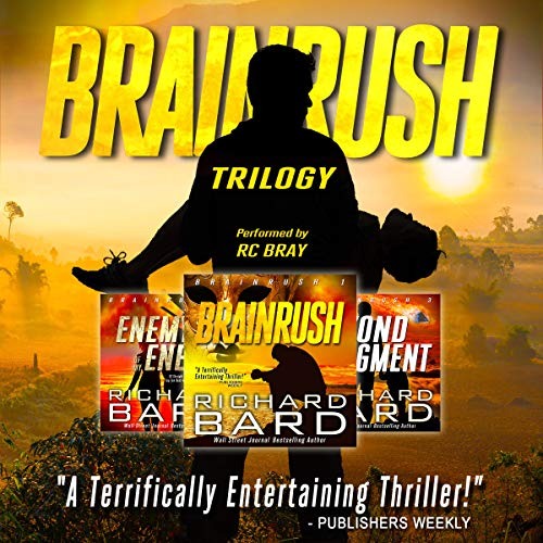 The Brainrush Trilogy: Box Set audiobook cover art