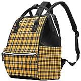 Amarillo Zou Ju gran capacidad pañal mochila bebé pañal bolsa de viaje para mamá papá