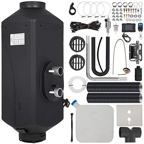 VEVOR Calentador de Aire Diésel de 12V 5KW Calefacción Estacionaria Diésel para Remolques de Autocaravanas RV Camiones 5kW + Interruptor LCD