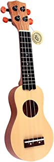 MagiDeal 17 Pulgadas Ukulele Mini Guitarra de 4 Cuerdas