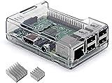 iuniker Raspberry Pi 3 B+ Carcasa Raspberry Pi 3 con disipador de calor para Raspberry Pi 3 B+