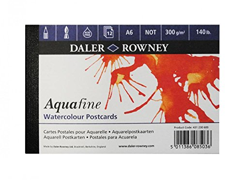 SG Education DR 431230600 DR Aquafine aquarel ansichtkaart A6 Pad