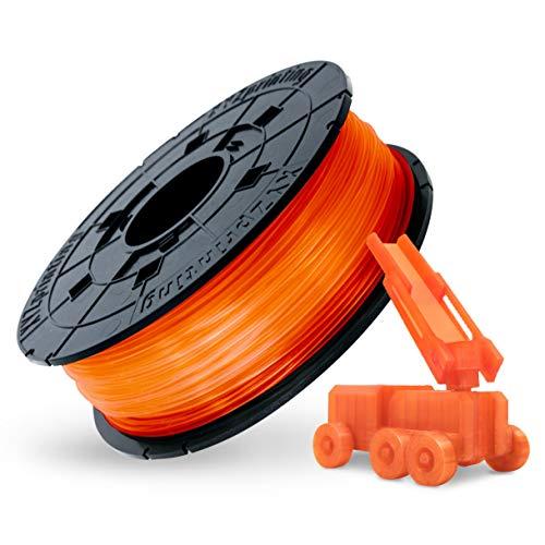 XYZprinting RFPLBXEU07E Filamento Ricarica PLA 600 g, Mandarino Chiaro