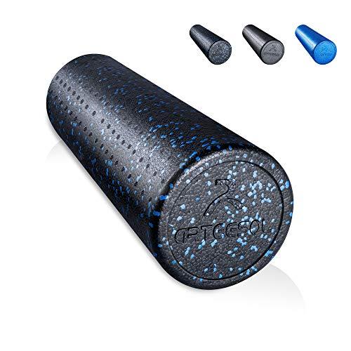 arteesol Faszienrolle, Massage Roller für Wirbelsäule, Mittel-Hart Pilates Yogarolle 15cm Durchmesser und 30/45/60/90cm Länge, Ganzkörper Foam Roller, 3 Farben