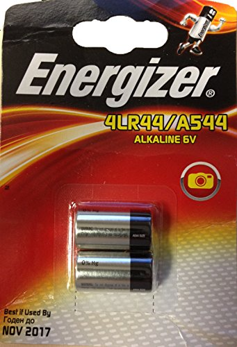ENERGIZER Lot de 10 Blisters de 2 Pile Alcaline A544 / PX28 4LR44 6V
