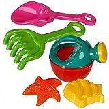CBK-MS. Strand Sand Wasser Spielzeug Gießkanne Schaufel Harke und Förmchen