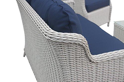 Rattan Gartenmöbel – Garten Lounge Set Bild 5*