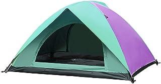 DorisAA camping tält enkel inställning utomhus 2 personer tält vattentätt dubbla lager UV solskydd skydd tak camping vandr...