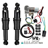 SLMOTO Rear Air Ride Suspension Kit Adjustable Fit for Harley Davidson Harley Touring Bagger Electra Street Road Glide Road King 1994-2020